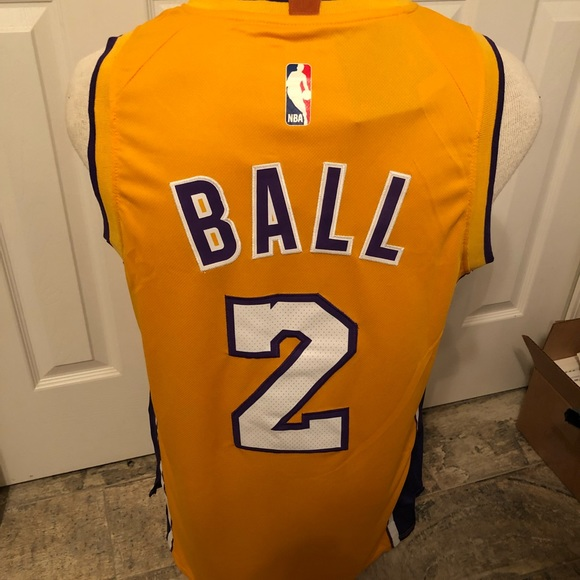 best loved 1d132 4c113 New Lonzo Ball jersey NWT